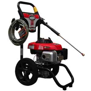 photo of pressure washer